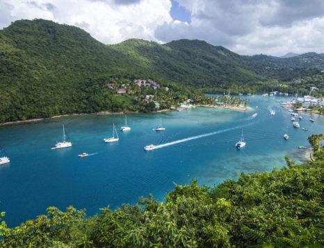 Marigot Bay-Saint Lucie