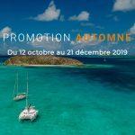 PROMOTION location catamaran aux Grenadines AUTOMNE